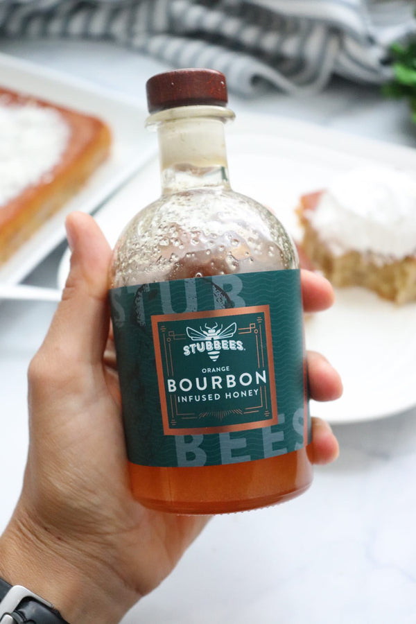 ORANGE Bourbon Infused Honey