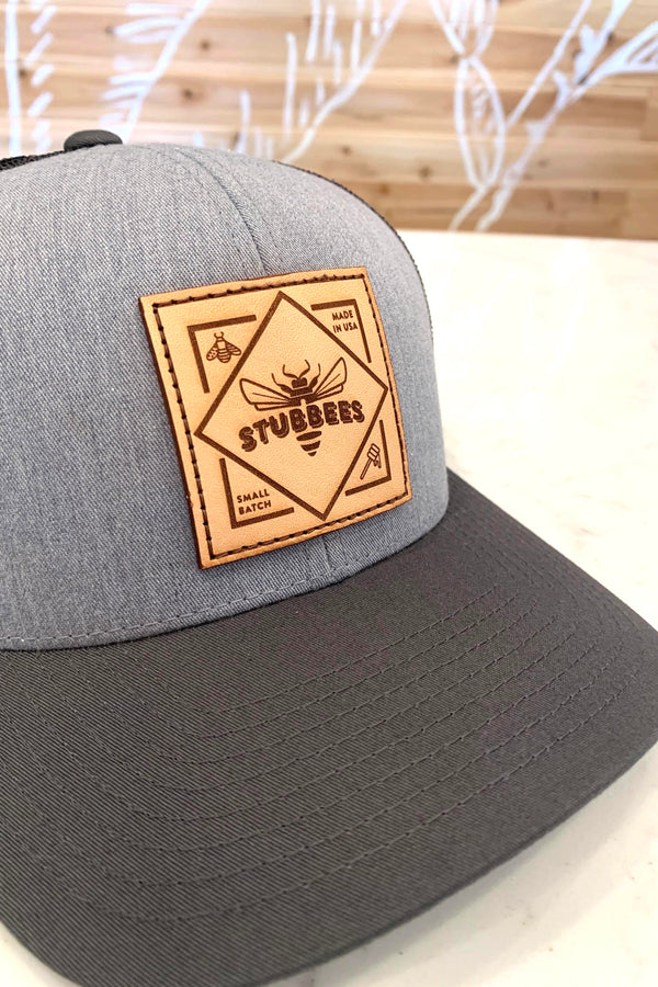 Small Batch Trucker Hat [grey/black]