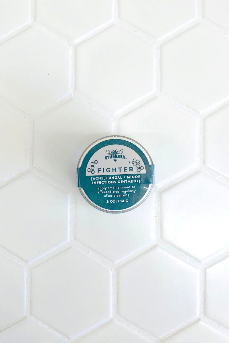 FIGHTER [acne, fungal, + minor infections ointment]