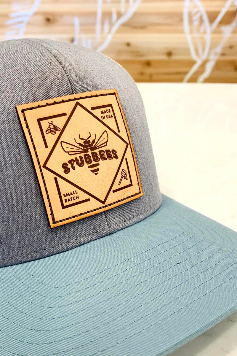Small Batch Trucker Hat [grey/blue]
