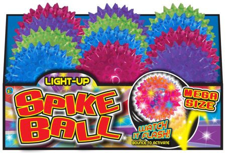 Light Up Spike Ball