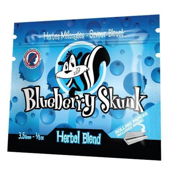 1/8oz Skunk Smoke Herbal Blend - Blueberry Skunk