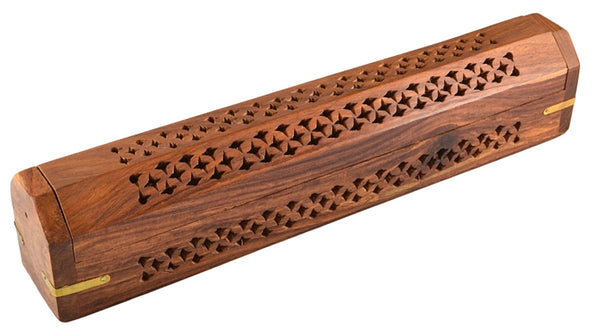 "12"" Coffin Incense Burner"