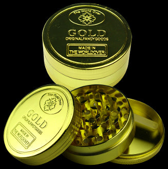 Grinder 3pc Metal Gold