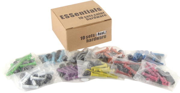 "Essentials Asst.Color 1"" Hardware"