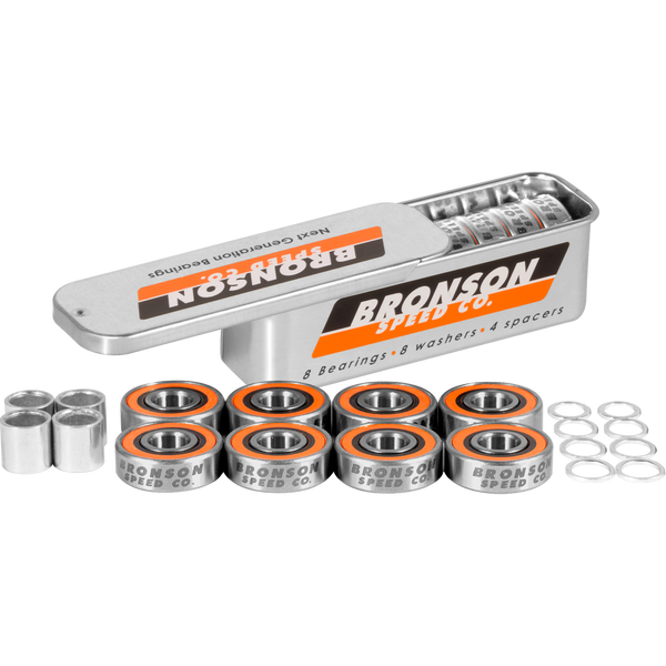 Bronson Speed Co. G3 Bearings Single Set Tin