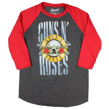 Guns N' Roses Men's Stack Logo Raglan T-Shirt