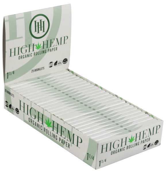 High Hemp Organic Rolling Papers - 1 1/4""