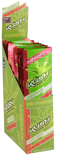 Kush Canadian Hemp Wraps - Kiwi Strwberry