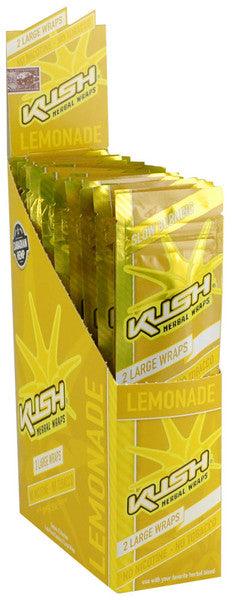 Kush Canadian Hemp Wraps - Lemonade