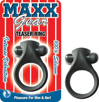 MaxX Gear Teaser Vibrating Ring