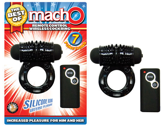 The Best Of Macho Remote Control Wireless Cockring
