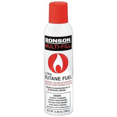 Ronson Multi-Fill Butane Gas