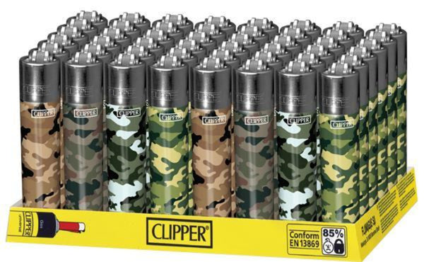 Clipper Lighters - Asst Designs
