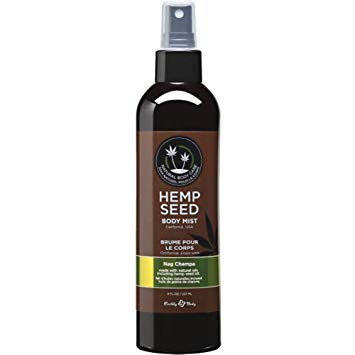 Earthly Body Hemp Seed Moisturizing Body Mist - Nag Champa