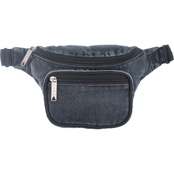 Bumbag Deluxe Fanny Pack - Dazed Washed Demin Black