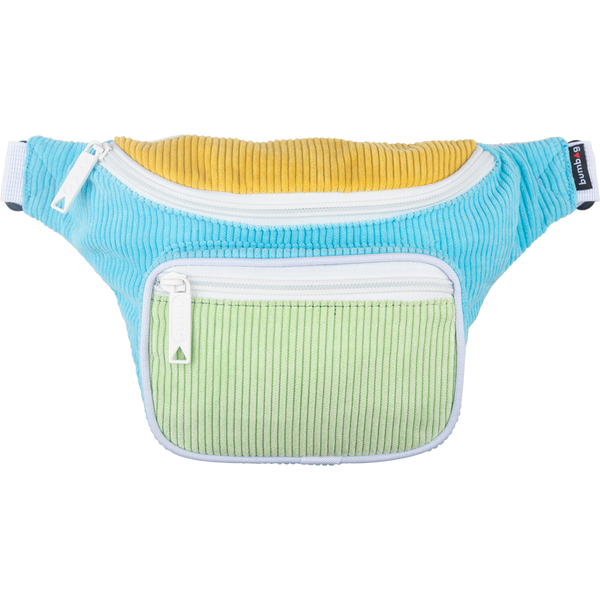 Bumbag Deluxe Fanny Pack - Groove Pastel