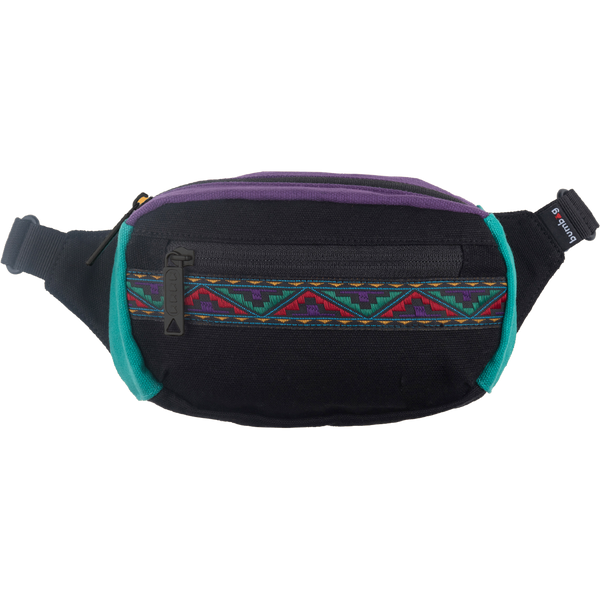 Bumbag Mini - Java Black w/ Aztec Ribbon