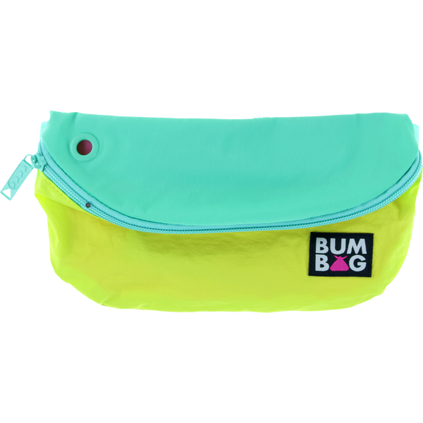 Bumbag Pouch Baseline -  Green Teal Yellow