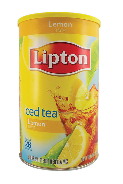 5lb 15.7oz Lipton Iced Tea Drink Mix Security Container