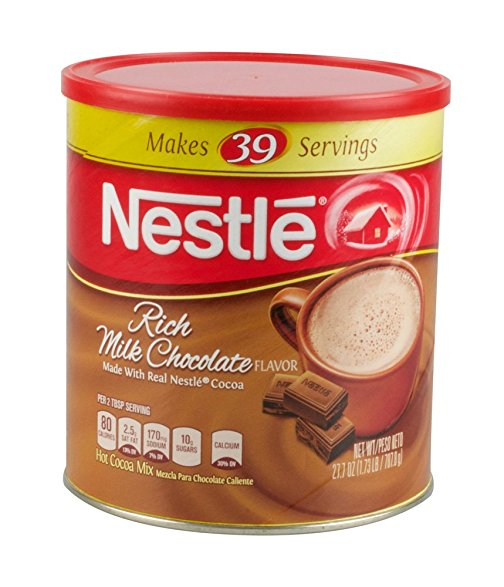 Nestle Hot Cocoa Mix Security Container