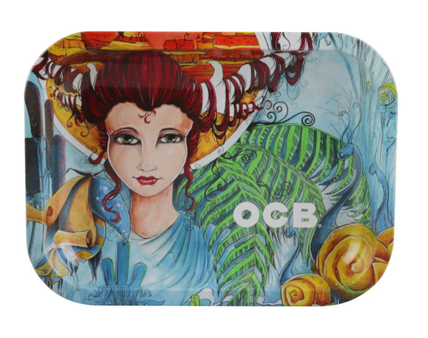 OCB Metal Rolling Tray - Artist Series Small