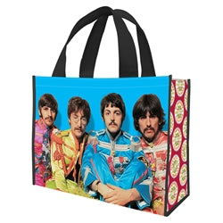 The Beatles Sgt Pepper's Large Recycled Shopper Tote