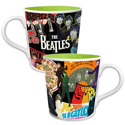 The Beatles Album Collage 12 oz. Ceramic Mug