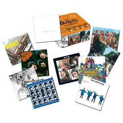 The Beatles 10 pc. Coaster Set with Collector Tin