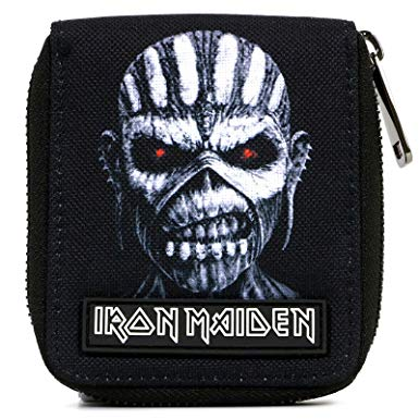 Iron Maiden Black Bifold Wallet