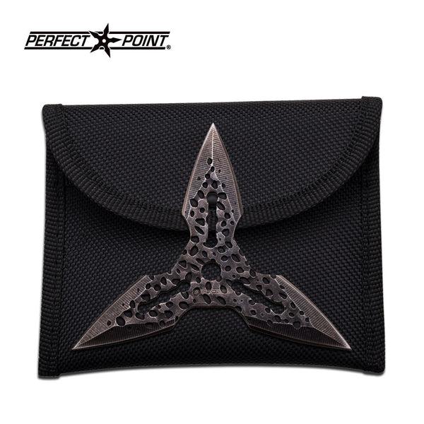 "Perfect Point Throwing Star 4"" Diameter 3 And 4 Point"