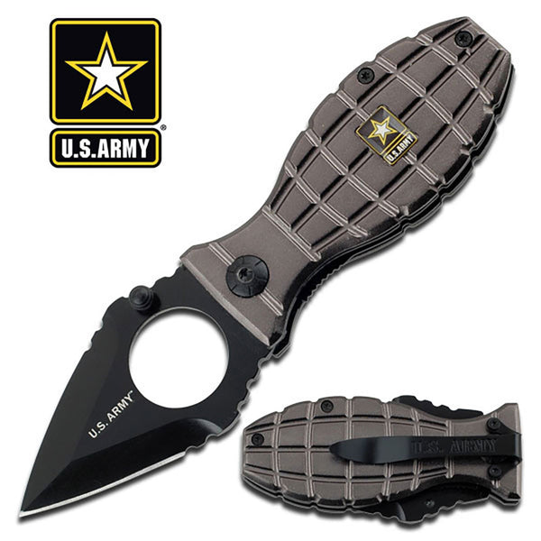 "U.S. Army Spring Assisted Folding Knife 3.5"" Closed"