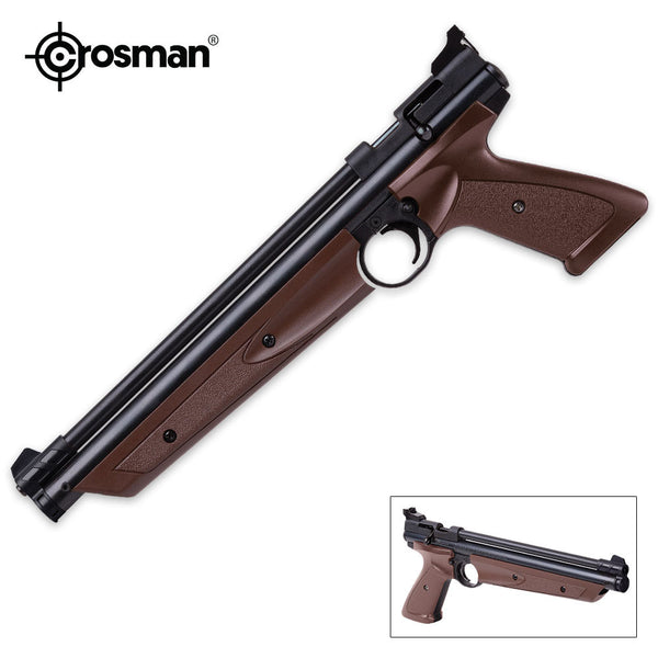 Crosman American Classic Brown Air Pistol