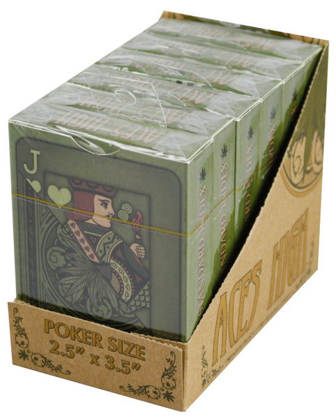 Aces High Weed Playing Cards