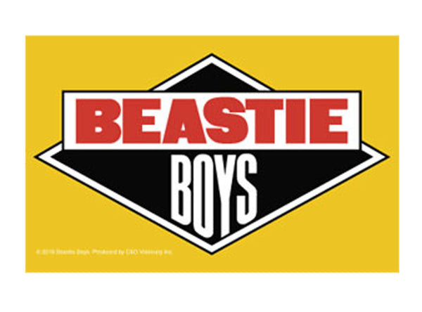 "Beastie Boys License To Ill Sticker - 3.25""x5.5"""