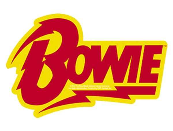 "Bowie Bolt Logo Sticker - 3.25""x5"""