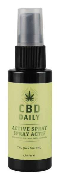 CBD Daily Active Spray - 2oz