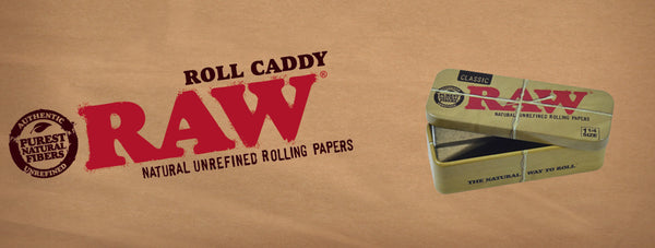 Raw Cone Caddy - Tin Carry Case
