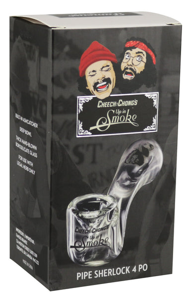 Cheech & Chong Up in Smoke Sherlock Glass Pipe