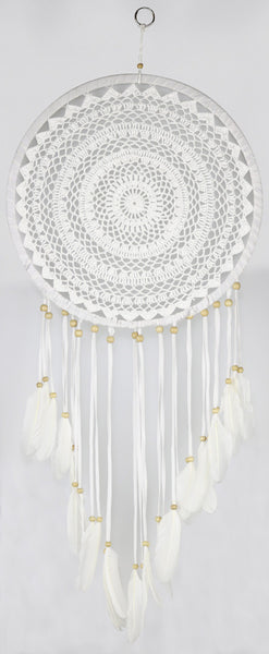 "Crochet Dreamcatcher - 12"" - Asst. Colors"