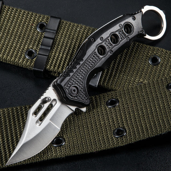 Black Legion Karambit Pocket Knife – Satin Finish