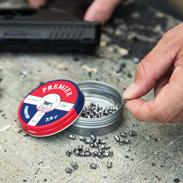 Crosman Pointed .177 Caliber Pellets - 250 Count