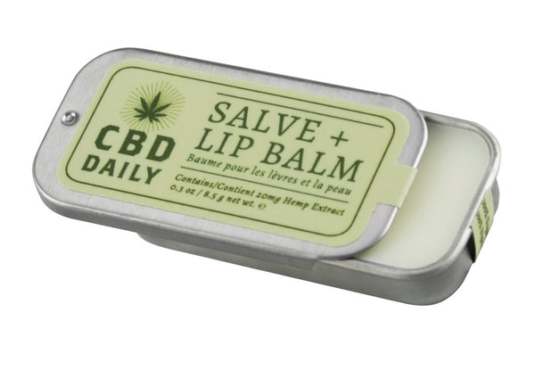 Earthly Body CBD Daily Salve + Lip Balm