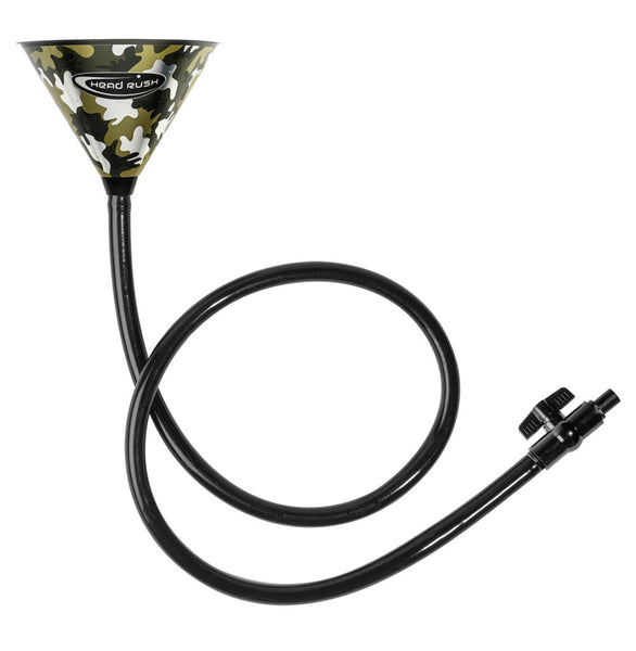 Head Rush Chrome Series Xtreme Beer Bong - 6ft - Camo