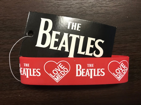 "The Beatles ""Love Medo"" Collectible Gummy Wristband Bracelet"
