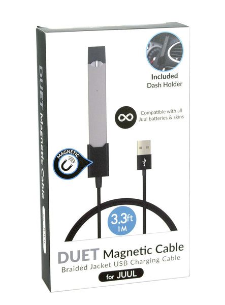 JUUL Vaporizer Duet Magnetic Braided USB Charger | 3.3 ft