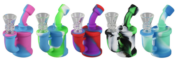 Mini Silicone Waterpipe