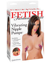 Fetish Fantasy Series Vibrating Nipple Pumps