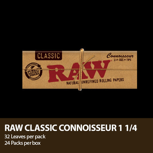 RAW Connoisseur Paper w/ Tips