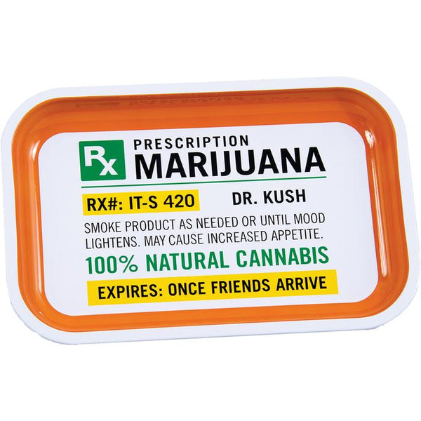 Metal Rolling Tray - Prescription